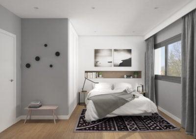 Rius i Taulet Dormitorio