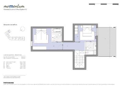 Dúplex de 2 habitaciones