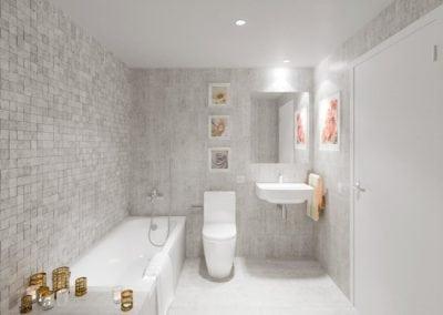 Granollers pisos obra nueva baño