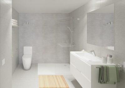 Granollers pisos obra nueva baño principal