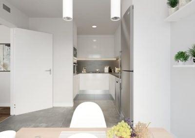 Granollers pisos obra nueva cocina
