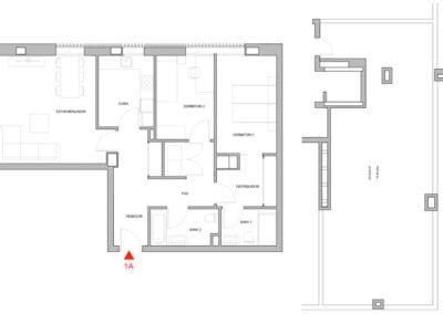 Planta baja de 2 habitaciones