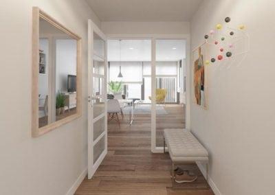 Granollers pisos obra nueva recibidor