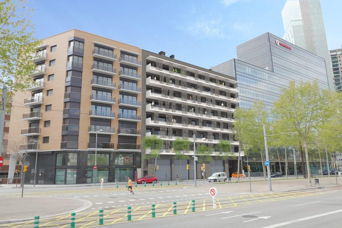 pisos de obra nueva en diagonal mar barcelona farr