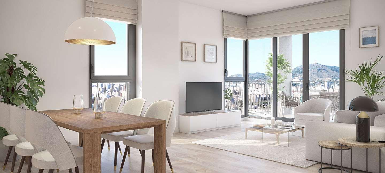 Cody, pisos de obra nueva en Hospitalet de Llobregat