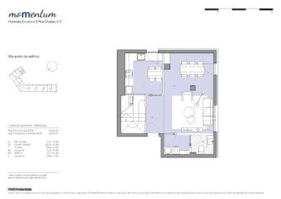 Dúplex de 3 habitaciones