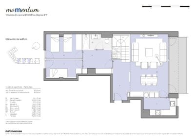 Dúplex de 4 habitaciones