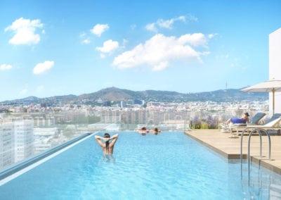 Cook Hospitalet de Llobregat piscina