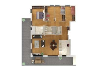 Residencial Tiana 4 dormitorios